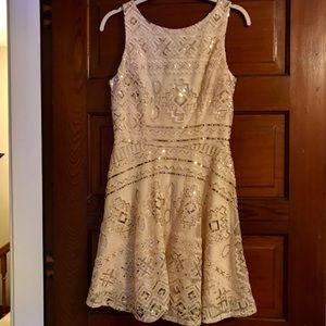 Speechless sequined sleeveless dress